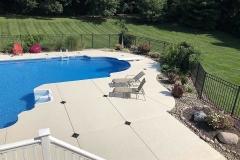 knockdown texture pool deck