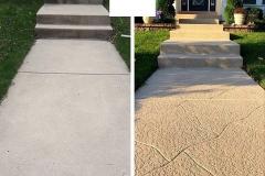 concrete walkway las vegas